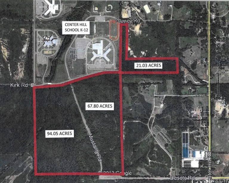 Center Hill Estates : Kirk Rd at Desoto Rd, Olive Branch, MS